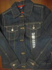 Austin Womens Denim Blue Jean Jacket S nwt