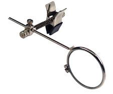 5X 24mm Clip On Single Eye Glass Lens Nickle Eyeglass Loupe Magnifier #MI126-5
