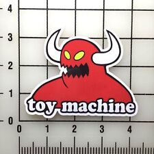 "Toy Machine 4"" Wide VInyl Decal Sticker - BOGO"