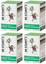 Dr Stuart's Green Tea Ginger & Seaweed - 15 Bags (Pack of 4)