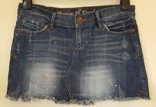 House of Denim Size 6/34  denim mini skirt