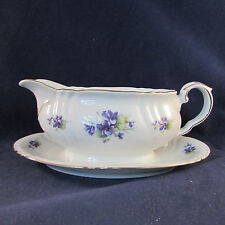 Royal Heidelberg China VIOLET Gravy Boat (s)