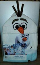 Disney Frozen II Elsa Anna Olaf Hooded Bath Towel
