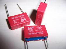 10pcs X2-MPX Polypropylene Film Safety Security Capacitor 0.22uF 275V TK