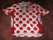 TOUR DE FRANCE 2005 POLKA DOT KOM NIKE ITALIAN CYCLING JERSEY [XXL]