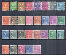 1938 US Presidential Prexie Issue - SC 803-831 Set of 29 - MNH F/VF*