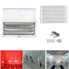 1 Set 3KW Spray/Baking Booth Infrared Paint Curing Lamps Heaters Heating Lights