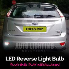 Focus Mk2 RS ST 04-11 Xenon White LED Reverse Light Bulb BA15s P21W 382 Canbus