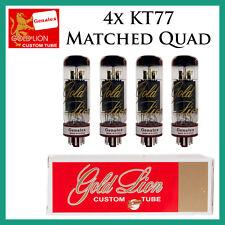 Genalex Gold Lion KT77 Power Tubes - Matched Duet