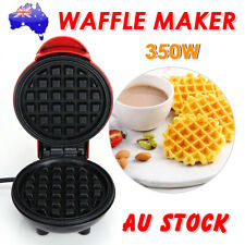 350W Mini Electric Waffle Maker Breakfast Bubble Egg Cake Oven Baker Non Stick