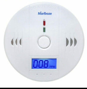 LCD Carbon Monoxide Detector Alarm CO Gas Warning Sensor Alarm Monitor Tester uk