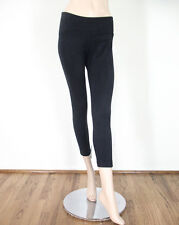 Aqua Faux Suede Legging Pants Black M $88 9480 BM12