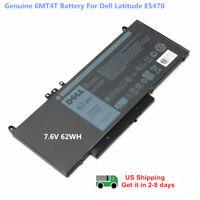 OEM Genuine 6MT4T Battery Dell Latitude E5470 E5570 E5450 79VRK 7V69Y TXF9M 62Wh