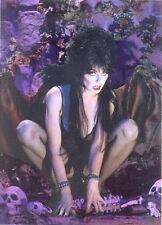 "1997 COMIC IMAGES ""ELVIRA"" OMNICHROME PROMO TRADING CARD -V/GOOD Condition"