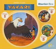 3 CDs * YAKARI - STARTER-BOX 1 ( FOLGEN 1-3 ) HÖRSPIEL ZUR TV-SERIE  # NEU OVP &