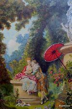 Huge  Charming Rose garden Feng Shui HEALING LOVE couple  in LOVE Fresh COA AYA