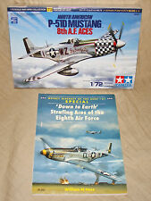 P-51 Kit & Book 1/72 Tamiya P-51D & Osprey: Strafing Aces of the Eight Air Force