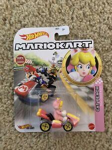Hot Wheels MarioKart Cat Peach by Mattel