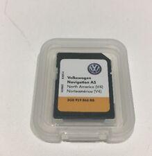 VW navigazione originale as SD-Scheda di memoria del Nord America v4 3g0919866bb come nuovo