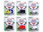 Route Runners Series 2 6 Pcs Set Dodge RAM Ford 1:64 Greenlight