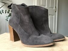 Zara Woman genuine suede ankle boots eur 37