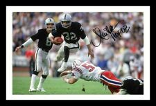 MARCUS ALLEN - LA RAIDERS AUTOGRAPHED SIGNED FRAMED PP POSTER PHOTO