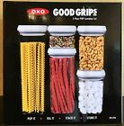 OXO Good Grips 5 Piece Food Storage POP Container Set Airtight BPA Free NEW