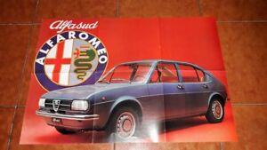 BROCHURE DEPLIANT ADVERTISEMENT ALFA ROMEO ALFASUD ITALIANO 1972 POSTER