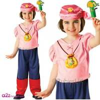 Girls Izzy Jake And Never Land Pirates Fancy Dress Pirate Kids Pirate Costume
