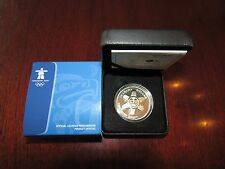 Canada $1 2010 Proof Silver Dollar Vancouver 2010 Olympic Winter Games The Sun