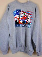 Disney Sweatshirt Large Mickey Mouse Freinds Gray Crew Neck L Walt Disney World