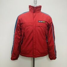 Abercrombie  1892 Mountain Outwear All-Weather Fleece-Lined Jacket size XL Red