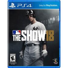 PS4 MLB: The Show 18 Brand New Factory Sealed Playstation 4