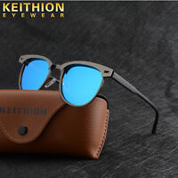 Retro Womens Mens Sunglasses Polarized Driving Mirrored Fashion Shades Eyewear