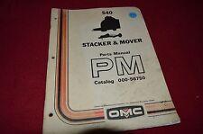 Owatona 540 Stacker and Mover Parts Book Manual HMPA