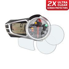 2 x Triumph Daytona 675 675R 2011+ Dashboard Screen Protector: Ultra-Clear