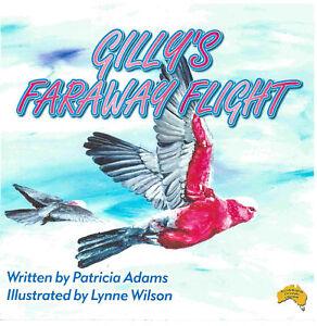 Australian Children's Book Gilly's Far Away Flight a young galah's journey