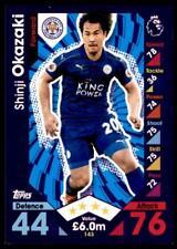 Match Attax 2016-2017 Shinji Okazaki Leicester Stadt Karte Nr. 143