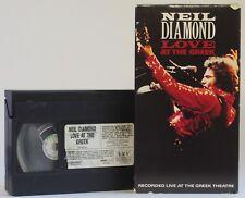 Neil Diamond - LOVE AT THE GREEK (VHS - 1976 Concert, Remastered 1992 Version)