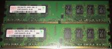 KIT RAM 4GB (2 X 2GB) DDR2 PC2-6400 800MHz 800 HYNIX MEMORIA PC2-6400U 240PIN