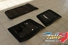 2013-2018 Jeep Wrangler JK 4 Door Premium Fabric Soft Top Tinted Window Kit OEM