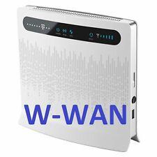 Dual Wan huawei b593 4g/3g router WLAN Speedport lte ii speedbox LTE 2