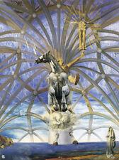 Santiago El Grande  by Dali   Giclee Canvas Print Repro