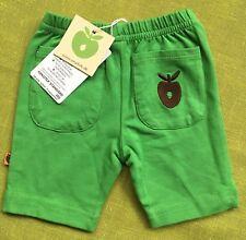 Smafolk BNWT green baby shorts size 3-6 mths (euro 68)