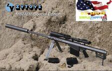 "1/6 Black Barrett M82A1 SASR Sniping gun rifle For 12"" Figure hot toys ❶USA❶"
