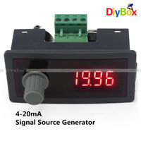 DC 12V/24V 4-20mA Signal Source Signal Generator With Polarity Protection