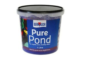 Garden Pond Pure Pond Balls 1000ml Treats Up To 20,000 lts Natural Bacteria