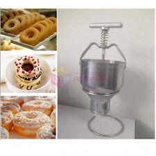 Stainless Steel Manual Donut Maker Machine Depositor Medu Vada Dropper Plunger
