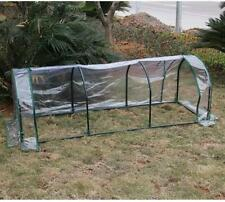 E08 Portable Reinforced Garden Large Frame Shelves Cover Cold Grow Greenhouse