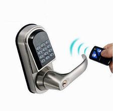 remote control Keyless Keypad Electronic Digital Code Entry latch bolt door Lock